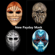 New HOT 1PCS PAYDAY 2 Party Masks Cosplay resin mask Fancy halloween party
