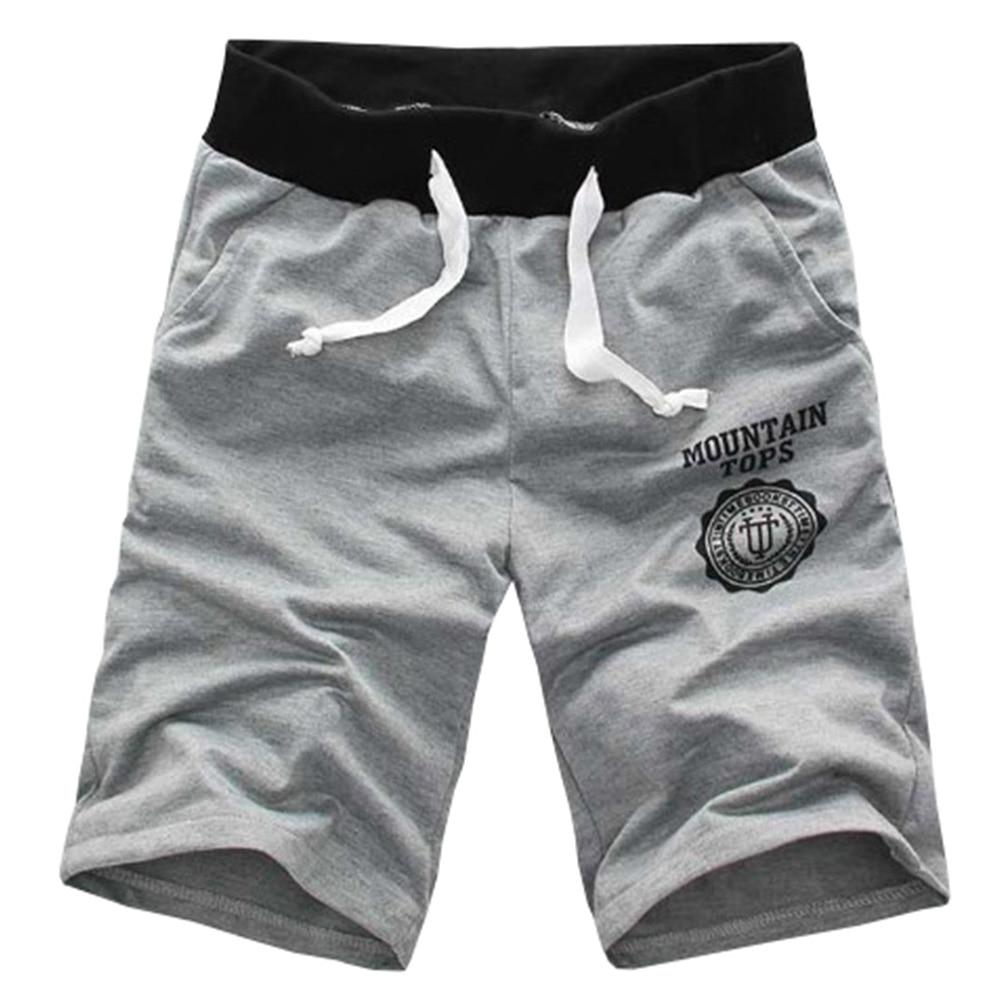 Pantalones cortos de verano de los hombres de la marca de moda - Ropa de hombre