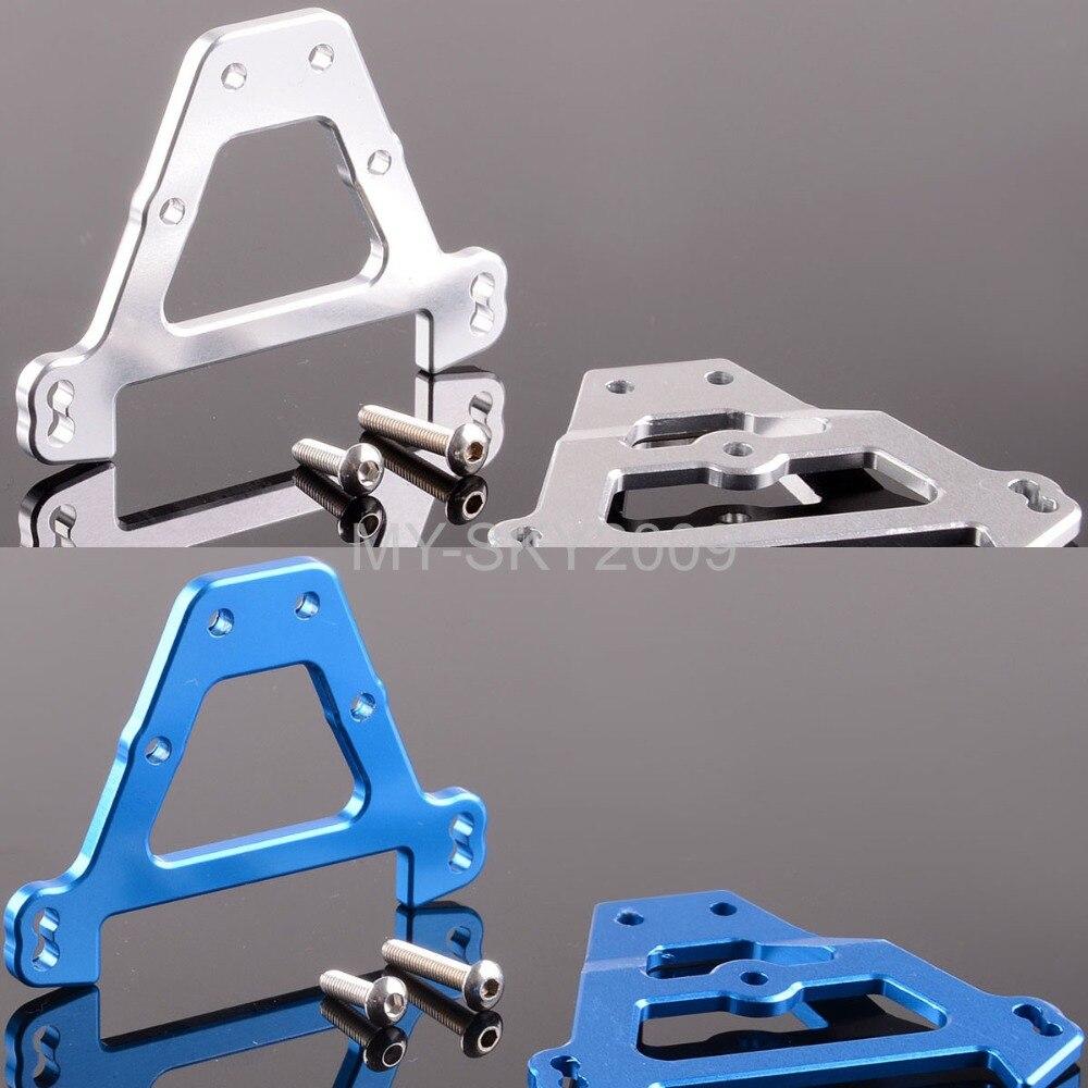 Aluminum Front & Rear Bulkhead tie bars 5323 5323R For Traxxas E Revo Summit Slayer Pro 4x4