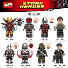 MARVEL Мстители 4 Железный человек MK85 муравей ястребий войны машина строительные блоки игрушки для детей X0265