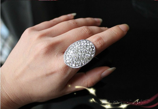 twilight breaking dawn bellas engagement ring lady crystal wedding band size 6 10 in rings from jewelry accessories on aliexpresscom alibaba group - Twilight Wedding Ring