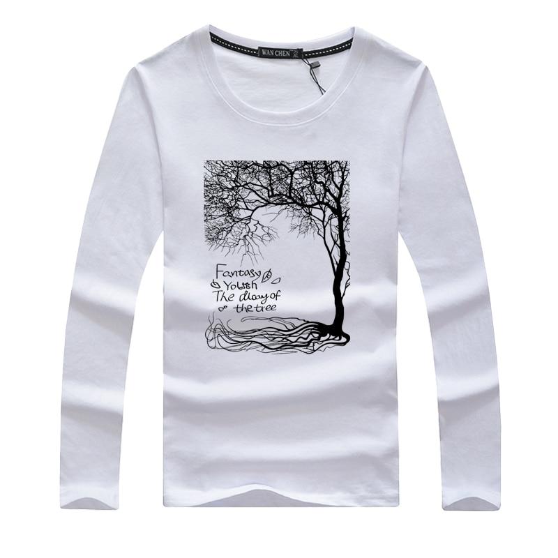 2017 Mens T Shirts Fashion Swag Men Slim Long Sleeve T