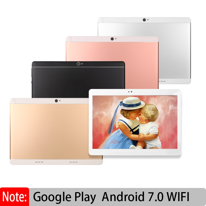 Original Octa Core Tablet Pc 10.1 Inch Android 7.0 IPS With Google Plya WiFi SIM 3G Call MT8572 CPU ADD Keyboard Leather Case