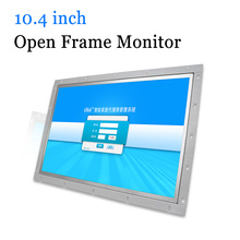 цены 10.4 inch Open Frame Monitor Metal Shell Industrial Touch Screen Computer Monitor