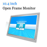 10.4 inch Open Frame Monitor Metal Shell Industrial Touch Screen Computer Monitor