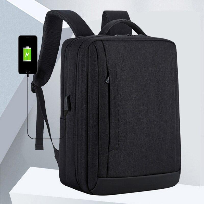Mens Multi-function Travel Bag Waterproof Nylon 15.6-inch Laptop Backpack Casual Business BackpackMens Multi-function Travel Bag Waterproof Nylon 15.6-inch Laptop Backpack Casual Business Backpack
