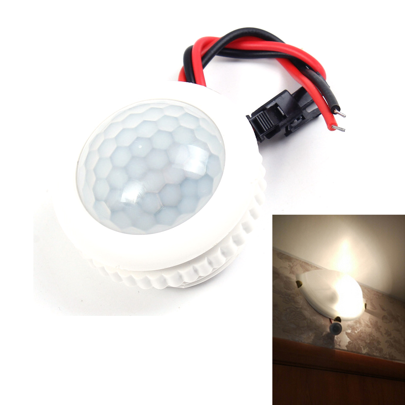 Lamp PIR Motion Sensor Light Switch IR Infrared Body Induction 220V 50HZ Ceiling Lamp Body Infrared Induction Switch