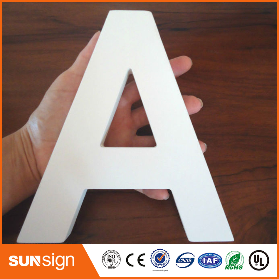 Custom Wall Decorative 3D Painted Wood Letters