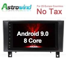 4G ram, 32G rom Android 9,0 Автомобильная dvd-навигационная система Радио медиа стерео для Mercedes-Benz R171 SLK200 SLK280 SLK350 SLK55
