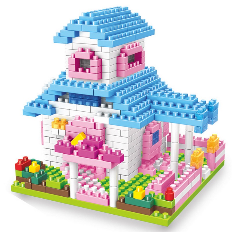 new building blocks toy diy children small bricks design