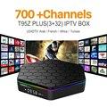 Octa-core Android IPTV Caja IPTV Árabe Francés europeo T95Z S912 MÁS 1000 M Deporte Canal Plus Francés Canales Iptv Set Top caja