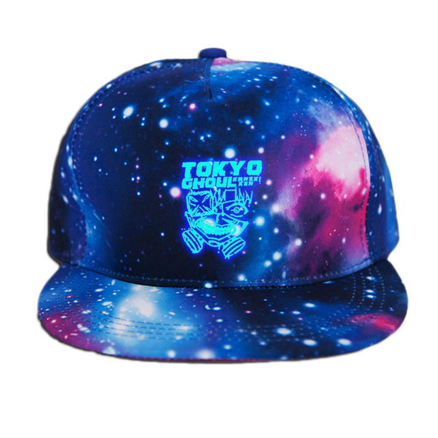 Fairy Tail Printing Cotton Luminous Sun Hat Baseball Cap