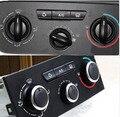 Frete grátis ar condicionado botão do interruptor de alumínio Para Peugeot 307 2011 2012 2013 2014 2015 2016