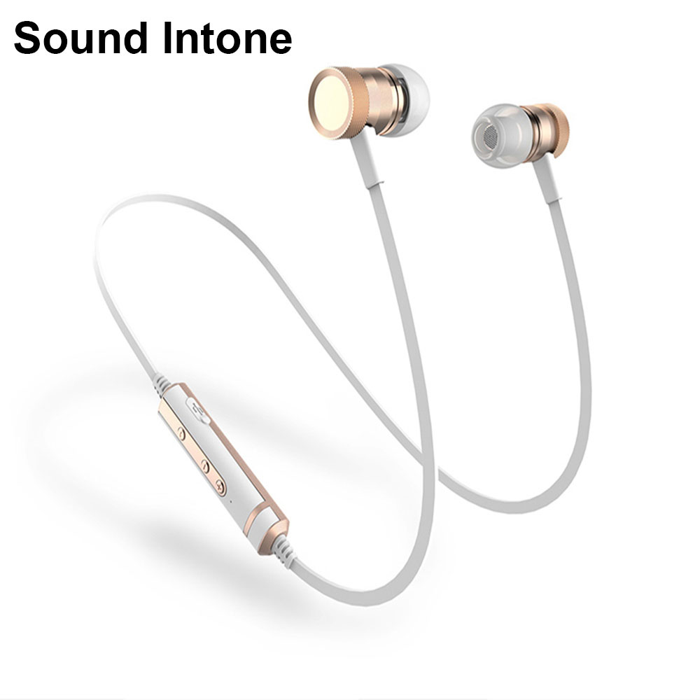 Sound Inone H6 Wireless Bluetooth Earphone With Mic Stereo Sports Running fones de ouvido Headsets for iPhone Samsung Xiaomi bluetooth earphone headphone for iphone samsung xiaomi fone de ouvido qkz qg8 bluetooth headset sport wireless hifi music stereo