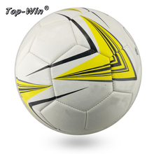 size 5 PVC material foam outside sport game team playing club using football soccer ball