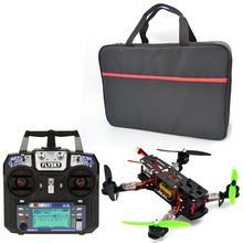 Frame + CC3D Flight Controller Motor + Simonk 12A ESC +FlySky FS-I6 for FPV RTF fpv diy dji phantom 4  QAV 250 RTF Quadcopter