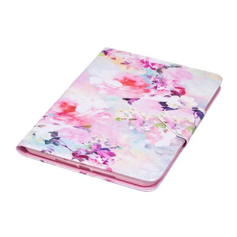 ocube DHL/EMS New 2017 Designer Flower Print Pattern Flip Stand PU Leather Case Cover For Apple iPad Mini 4 Mini4 7.9 Tablet смеситель для раковины vidima ретро ba120aa