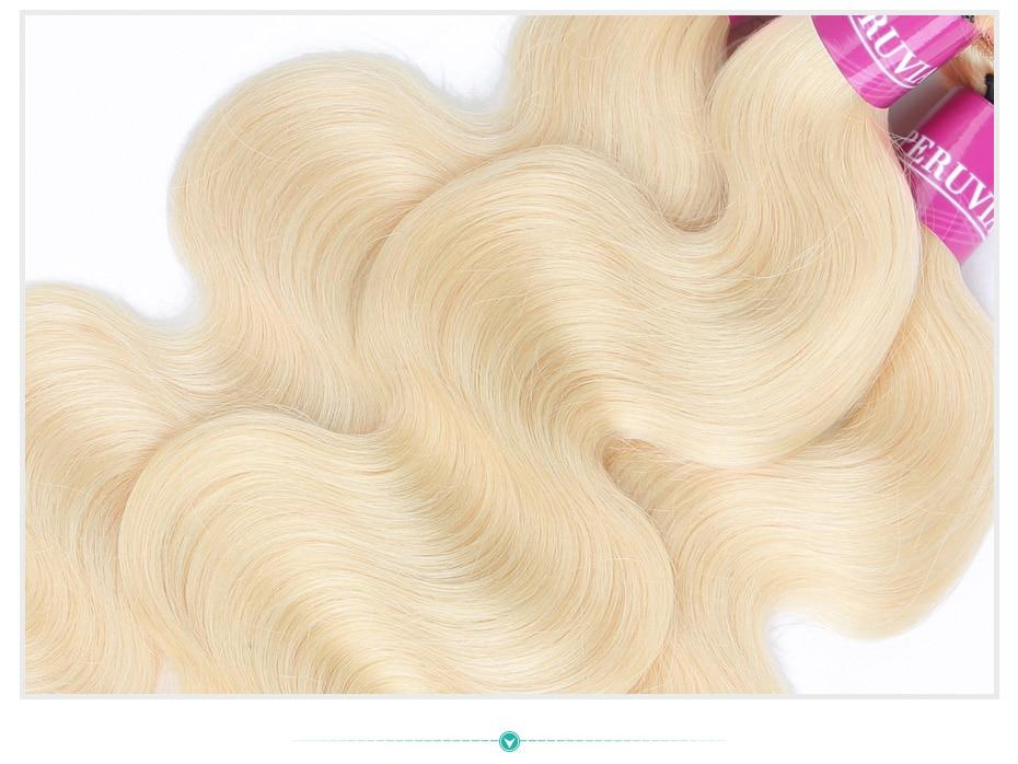 HTB1o4mPaU rK1Rjy0Fcq6zEvVXaL Monstar Brazilian Hair Weave Bundle Deals 613 Honey Blonde Body Wave Remy Human Hair Bundles with Closure 13x6 Lace Frontal