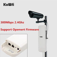 Openwrt Firmware 3KM Long Range Outdoor CPE WIFI Router 2.4G 300Mbps Wireless AP WIFI Repeater Access Point WIFI Extender Bridge 2pcs high power wireless bridge cpe 2 3km comfast 300mbps 2 4ghz outdoor wifi access point ap router wifi repeater for ip camera