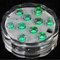 12 Pieces/Lot  Superior Quality Submersible LED Light with Remote Control Martini Vases Decoration Martini Glass Vases