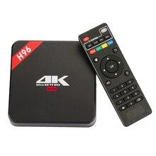 Nagy teljesítményű teljesítmény H96 RK3229 1g / 8g android 6.0 tv box Quad Core2High-sebességű Wifi Bluetooth 4.1 HD Médialejátszó szett Top Box