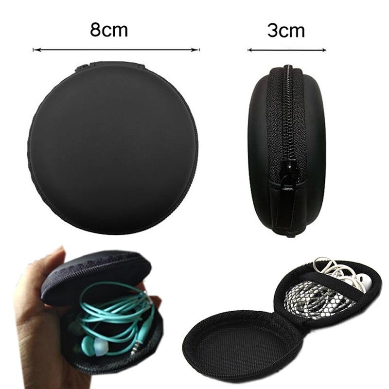 Earphone font b Holder b font Case Storage Carrying Hard Bag Box Case For Earphone Headphone