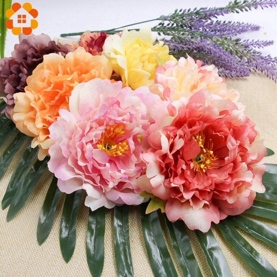 5 Stücke Künstliche Diy Seide Pfingstrose Köpfe Dekorative Simulation Blume Kopf Für Home Hochzeit Geburtstag Party Dekoration Gefälschte Blumen Künstliche Und Getrocknete Blumen