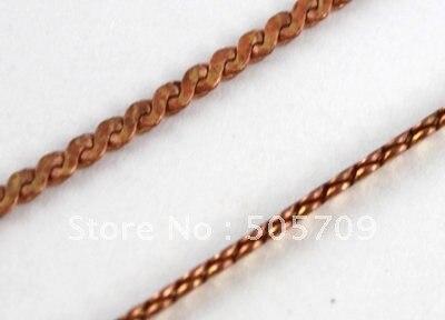 30 м витой S формы меди цепь 2x1 мм#20579