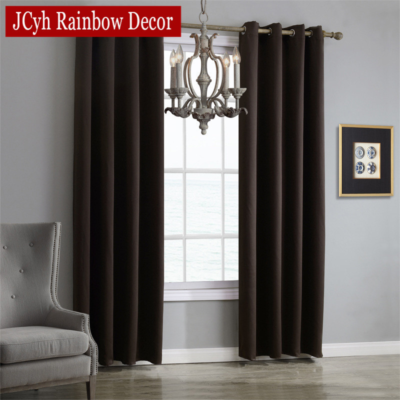 JRD Modern Blackout Curtains For Living Room Window Curtains For Bedroom Curtains Fabrics Ready Made Finished Drapes Blinds Tend 3