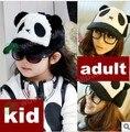 Personajes de dibujos animados de la felpa panda sombrero infantil gorra de béisbol adulto casquillo del padre niño pesadilla antes de navidad mujeres sombrero de béisbol