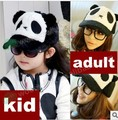 cartoon characters plush panda hat child baseball cap adult cap parent-child cap nightmare before christmas women baseball hat