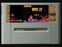 16 비트 게임 ** super bros 2 (pal eur 버전!!)