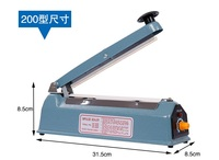 220V 200mm Hand Sealer Max 200mm Impulse Sealer WITH GIFT