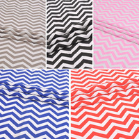2yard Cotton Polyester Canvas Wave Stripe Fabric Fashion Sale Geometric Colorful DIY Tablecloths Curtains Cushion Bed