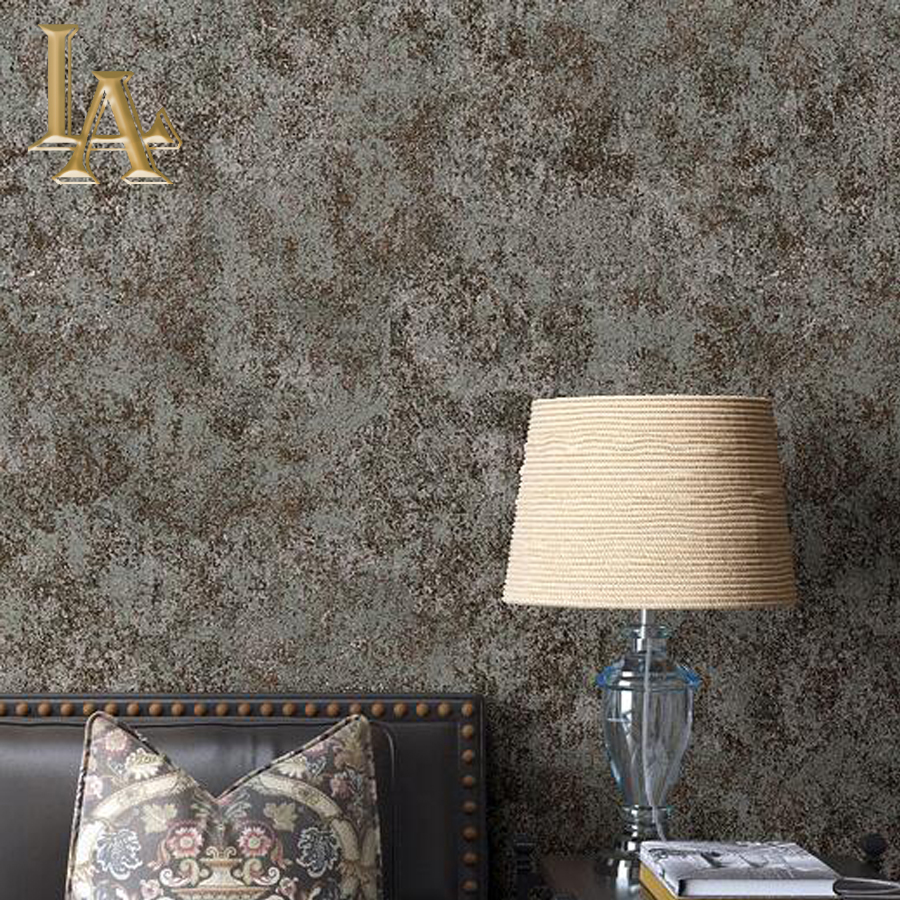 Vintage Solid Color Textured Wallpaper Simple Nonwoven Wall paper Living room Bedroom Wall Home Decor Grey Beige W241 blue earth cosmic sky zenith living room ceiling murals 3d wallpaper the living room bedroom study paper 3d wallpaper