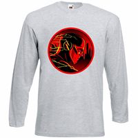 Flash LOGO fruit of the loom t shirt long sleeve shirt