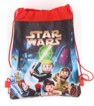 12Pcs Star Wars Darth Vader Storm Troops Cartoon Kids Drawstring Backpack Shopping School Traveling Party Bags Birthday Gifts
