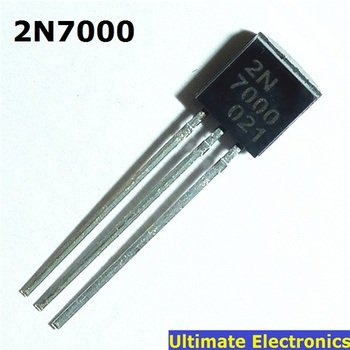 50pcs 2N7000 TO-92 N-Channel MOSFET Transistor - discount item  5% OFF Active Components