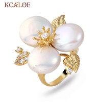 Kcaloeファッション自然シェル真珠の女