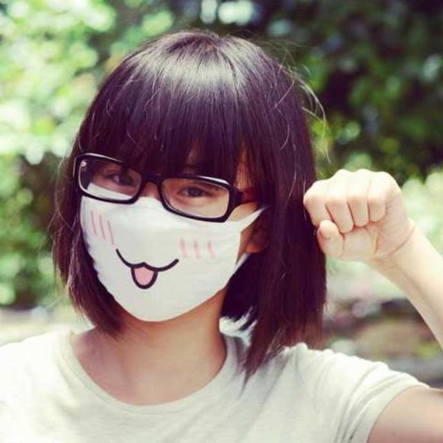 New Kwaii Cute Anti Dust Mask Kpop Cotton Mouth Mask Emotiction Masque Kpop Masks Anime Cartoon Mouth Muffle Face Mask 4
