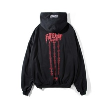 VETEMENTS Hoodies Men Women Stranger Things Streetwear Harajuku Fashion Sweatshirts Embroidery Gothic Hoodie