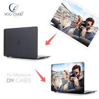 VOGROUND DIY Name Custom Design Photo Case Cover For Macbook Mac Book 11 13 15 Air