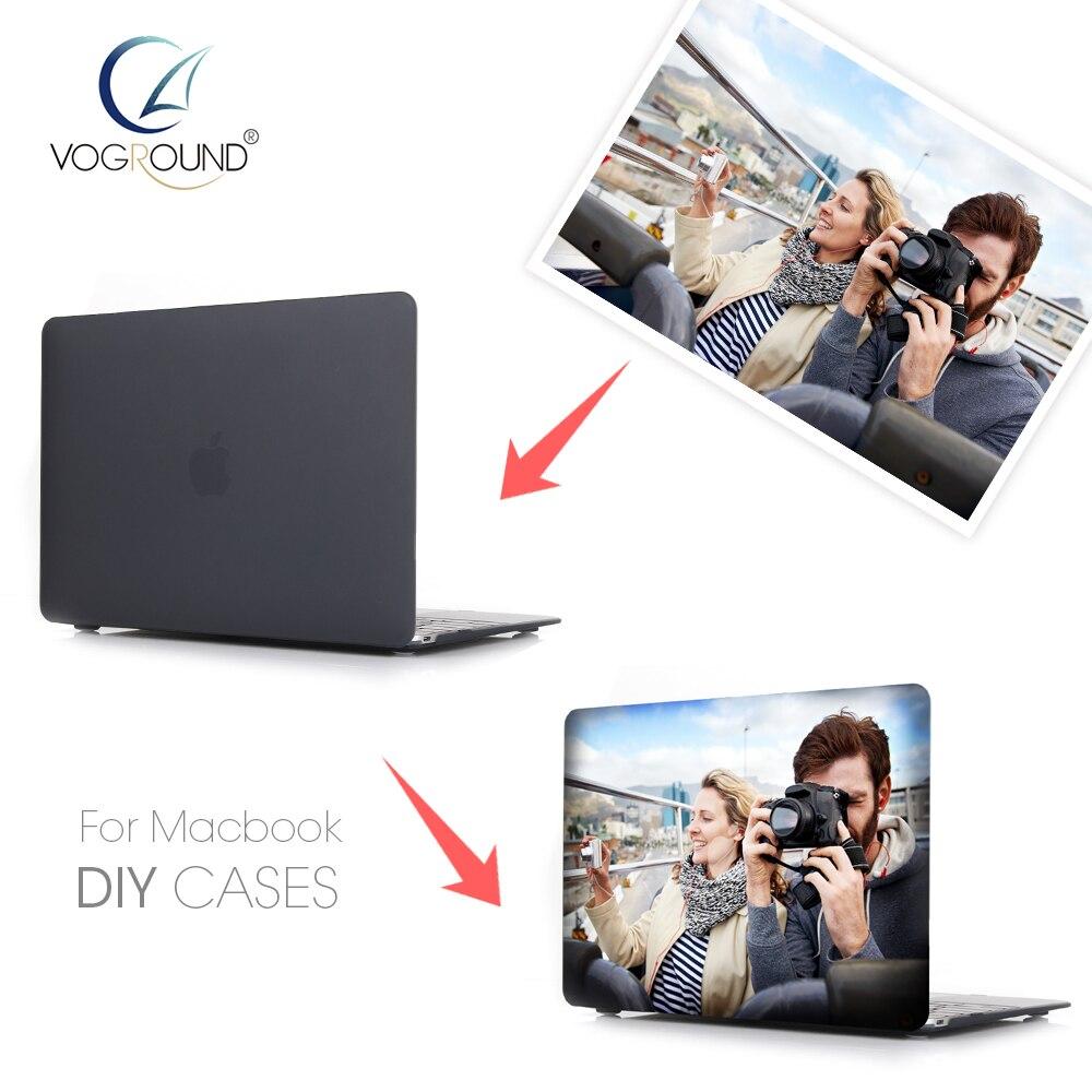 Diy Macbook Cover : Voground diy name custom design photo case cover for