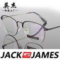 Praça caixa de armações de óculos de olho para homens e mulheres óculos de armação de óculos de prescrição moda mens óculos 32055