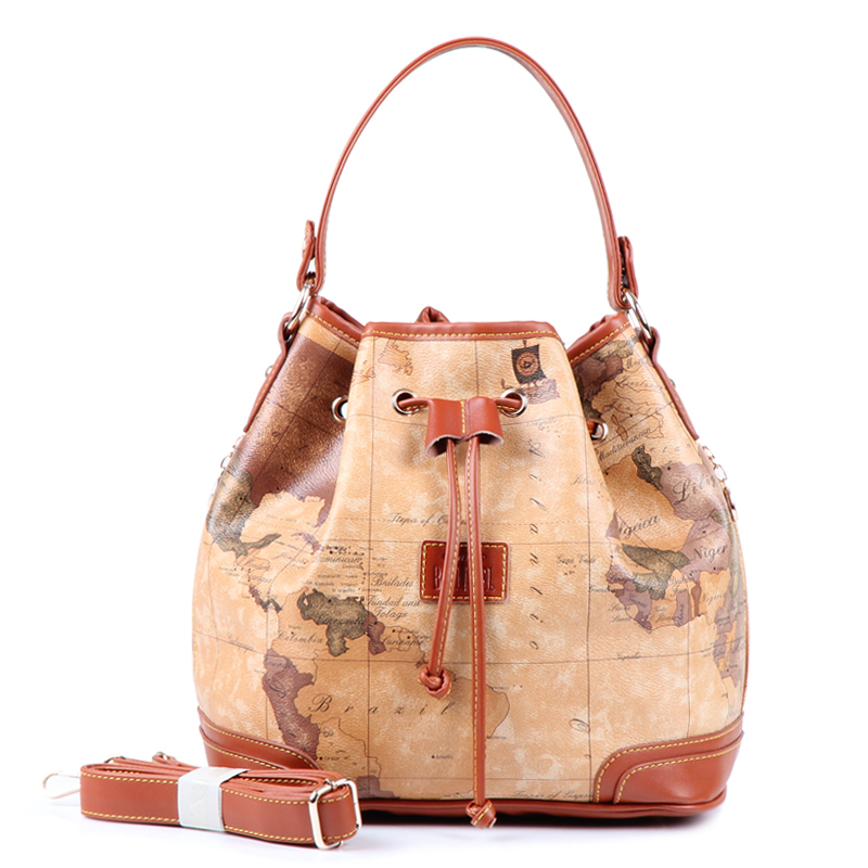 2017 high quality all match vintage map pack handbag messenger bag 2017 high quality all match vintage map pack handbag messenger bag bucket bag womens handbag gumiabroncs Image collections