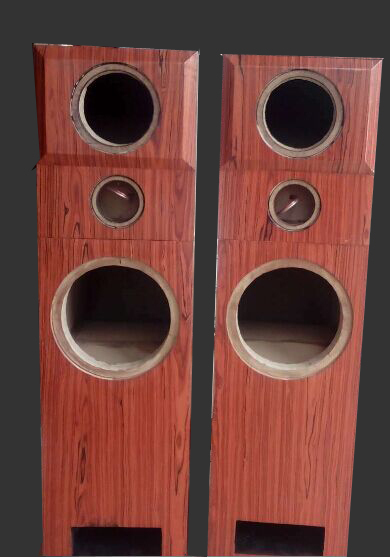 Split maze empty box speaker box 12 inch custom floor for 12 inch floor speakers