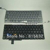 Brand New FOR Apple MacBook Pro 17 Unibody A1297 Danish Keyboard Black