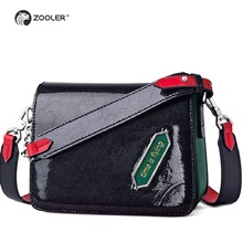 Hot &New Genuine leather shoulder bags ZOOLER 2019 new classic women messenger bag designer high quality cross body bags#GH212