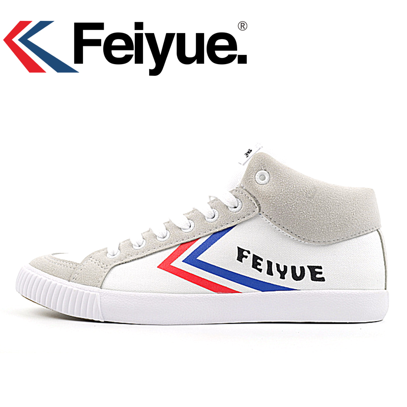 Feiyue Original 2018 High Knight Sneakers Classical Shoes Martial arts Taichi Taekwondo Wushu Kungfu Soft comfortable shoes