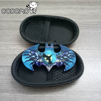 HIgh Quality Fidget Spinner Batman Metal Color Printing Hand Spinners Fidget Toys With Fidget Spinner Box